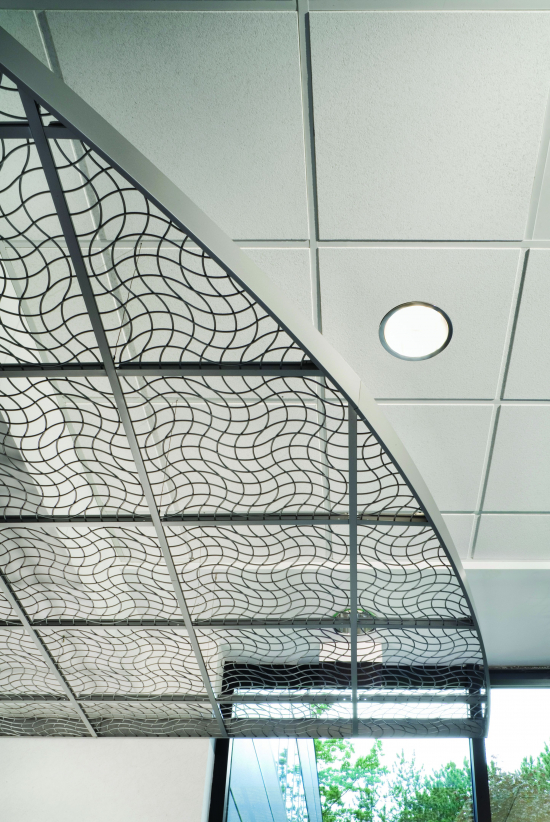 Wireworks Open Cell Ceiling Panels By Usg Boral Eboss