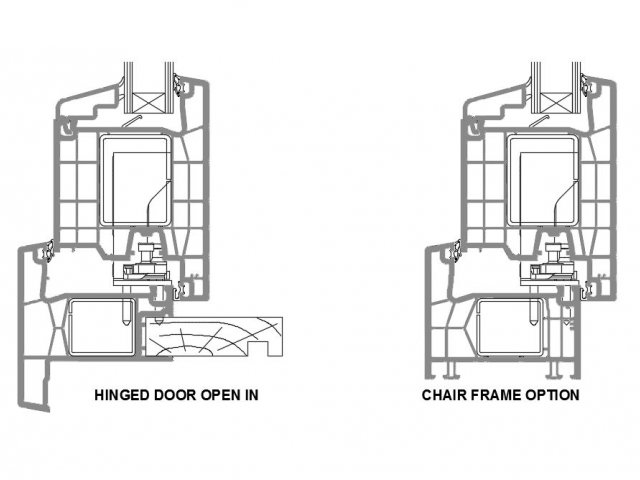 Vantage Klima Series Hinged Door