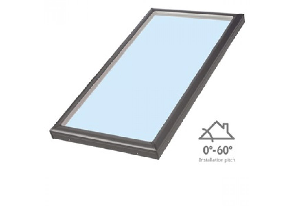 Fixed Skylight - Low Pitch