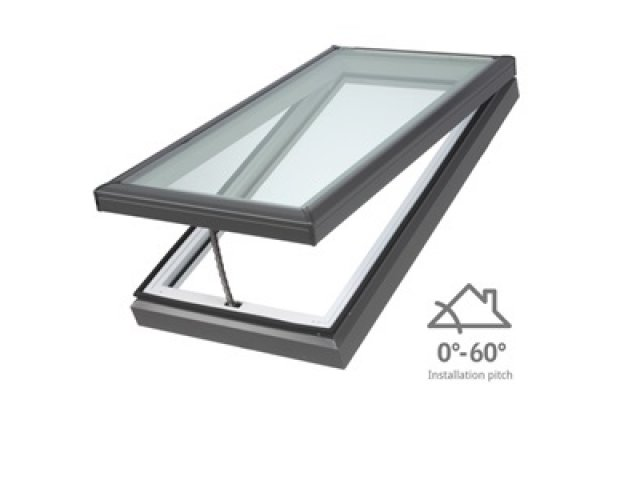 Manual Skylight - Low Pitch