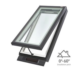 solar skylight low pitch by velux eboss. Black Bedroom Furniture Sets. Home Design Ideas