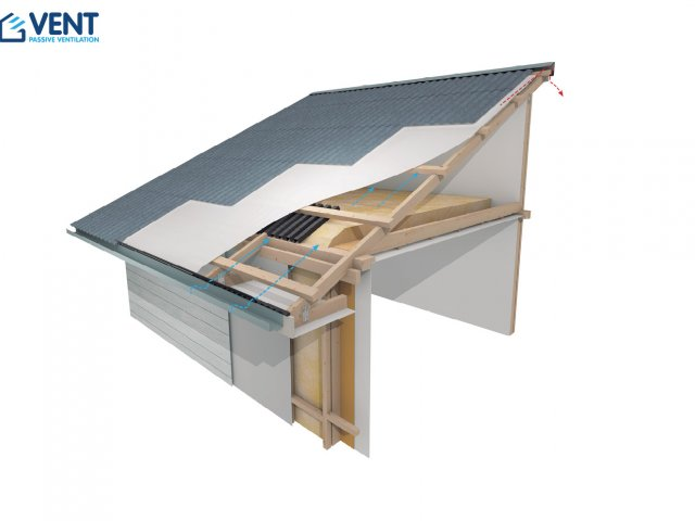VENT Mono Pitch Cold Roof Ventilation System
