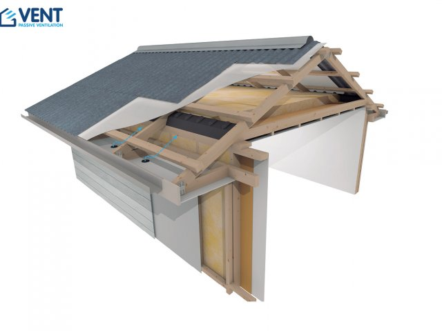 VENT Retro Cold Roof 15°-30° Ventilation System