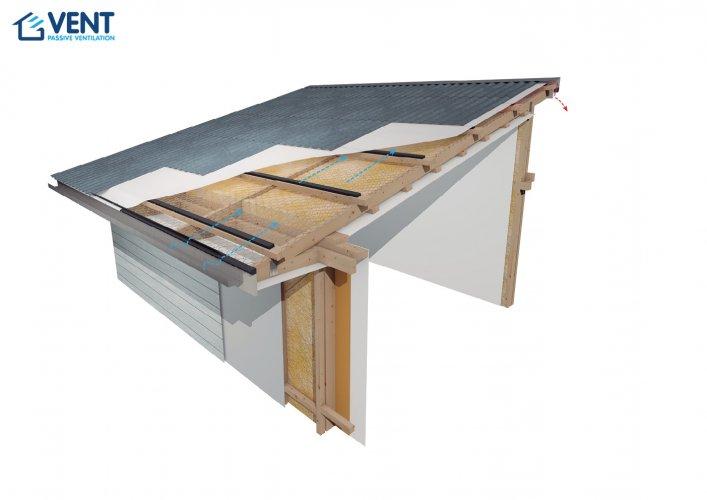 vent skillion mono pitch roof