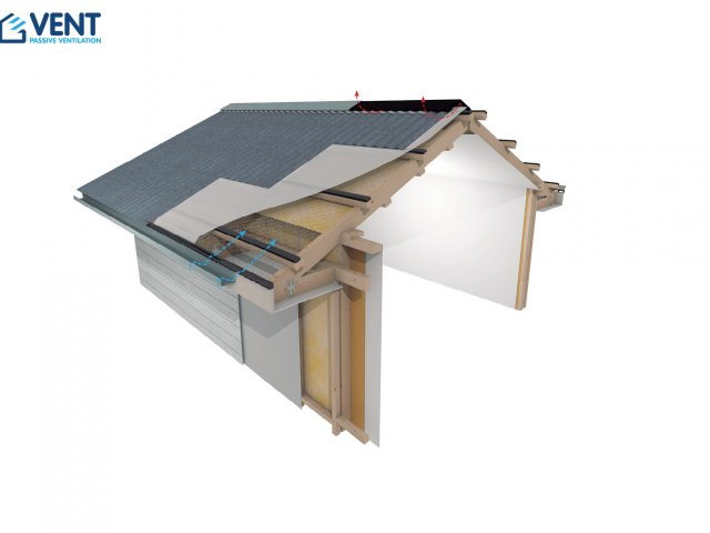 VENT Skillion Pitched Roof Ventilation System
