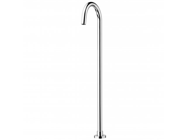 Voda Floor Mount Bath Filler Chrome
