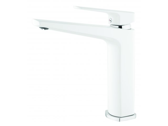 Eclipse Sink Mixer White & Chrome