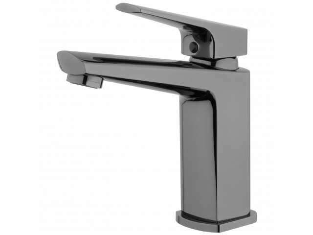 Eclipse Basin Mixer Mirrored Black