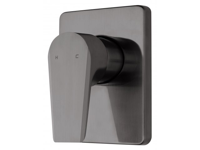 Olympia Vortex Shower Mixer Brushed Gunmetal