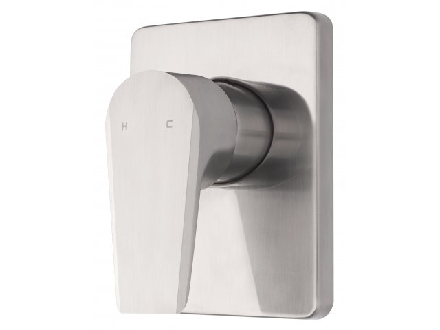 Olympia Vortex Shower Mixer Brushed Nickel