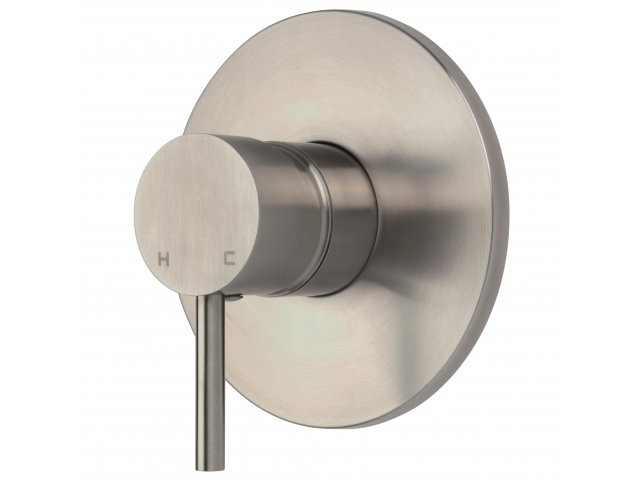 Stainless Steel Pro Flow Minimalist Shower Mixer