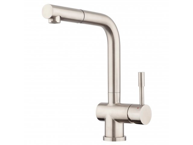 Stainless Steel Pullout High Rise Sink Mixer