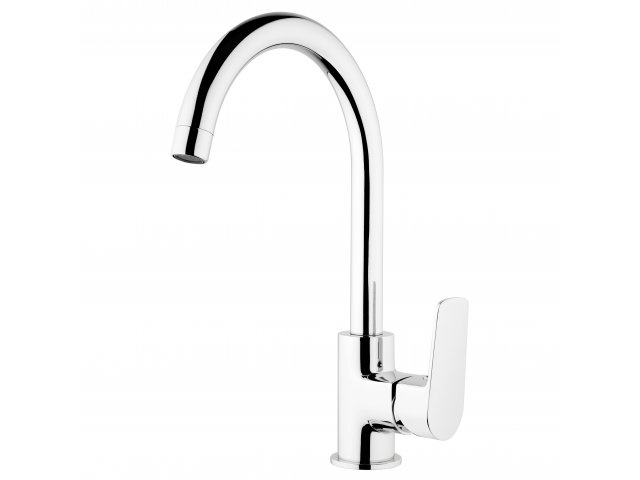 Soul Gooseneck Sink Mixer Chrome