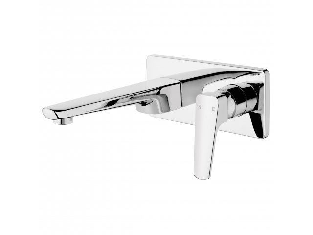 Eclipse Wall Mounted Basin Mixer Chrome