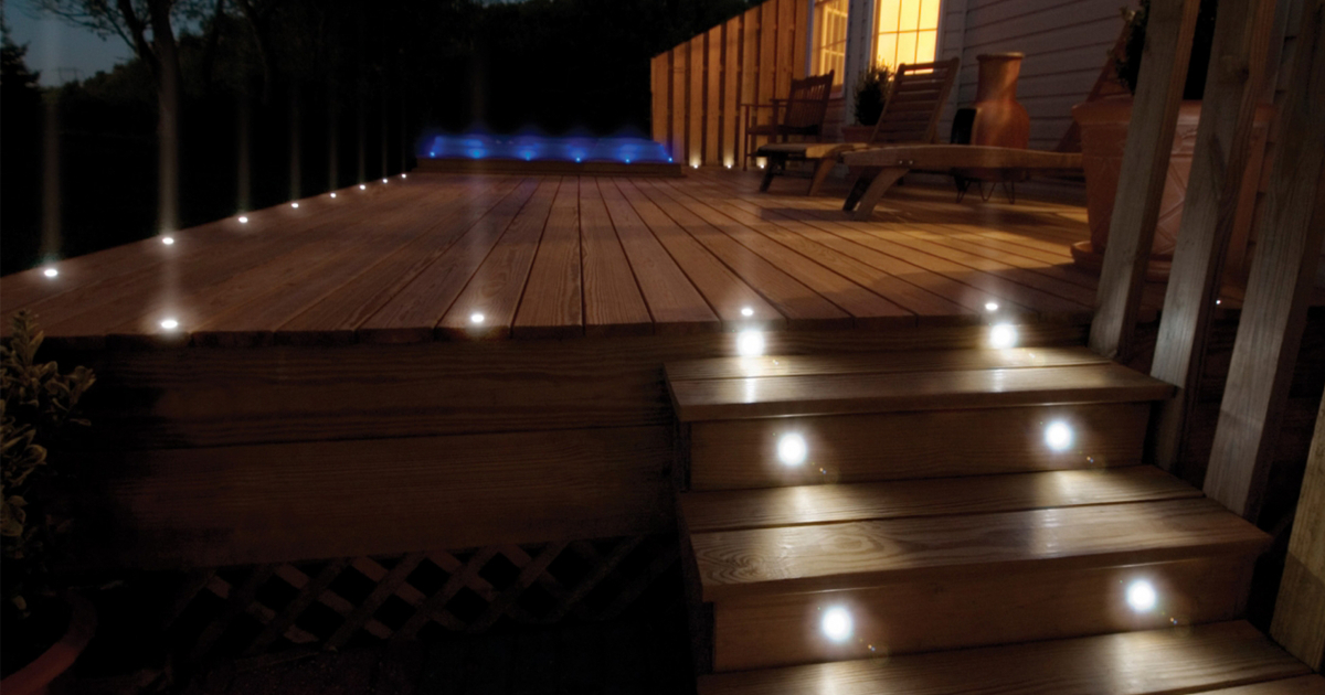 Recessed Deck Lights by Vynco – EBOSS
