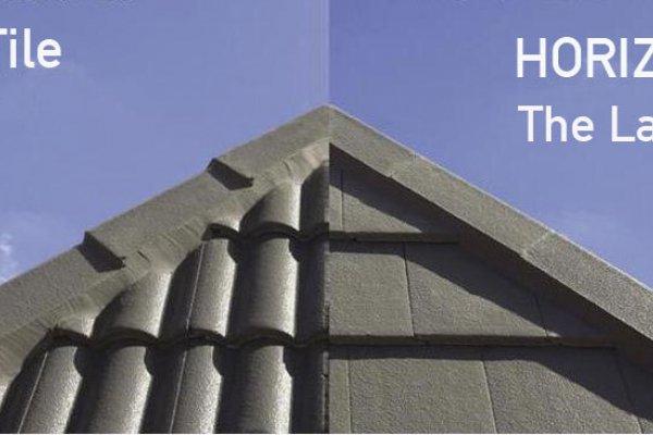 Horizon Concrete Tile By Monier Eboss