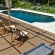 poolside relaxation composite deck