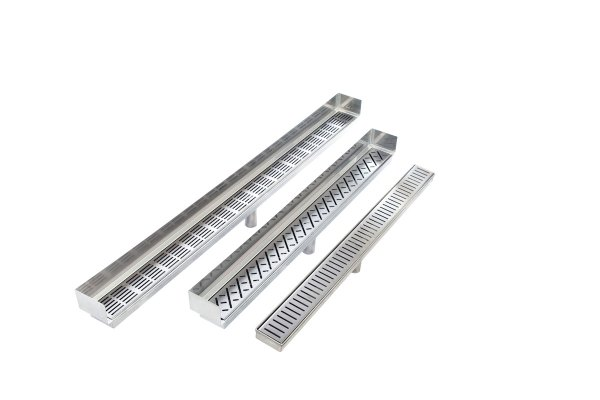 Accrete's Platinum Stainless Steel Drainage Solution