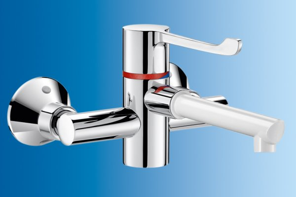 Delabie Basin Taps for Hospitals and Healthcare Facilities