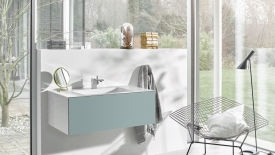 metrix folio washbasin clean lines modern 5