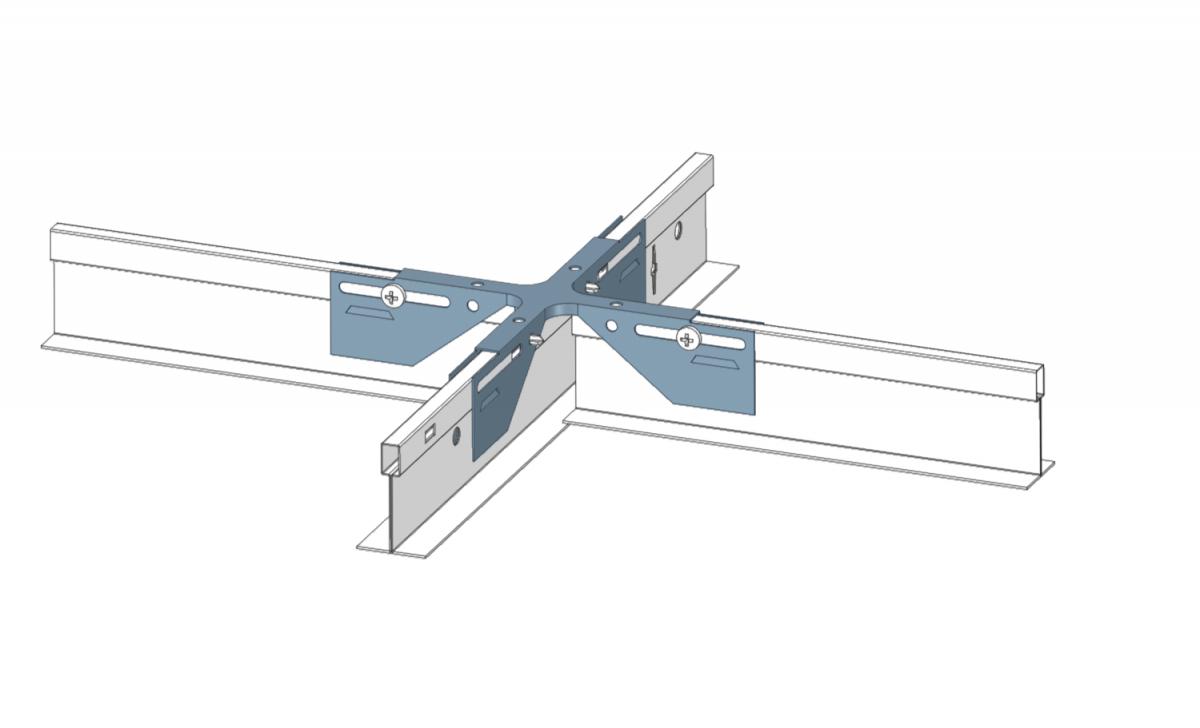 Figure 3: Typical Tile Ceiling Seismic Gap