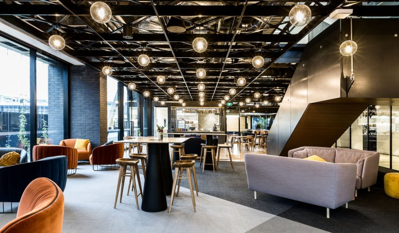 Forman Provides Unique Ceiling for Co-Working Space