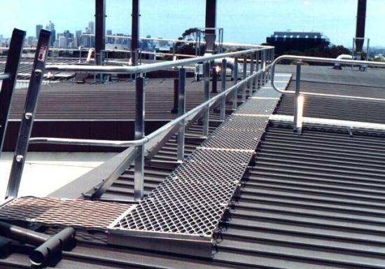 Walkmaster Roof Walkways Systems Juralco Aluminium Eboss