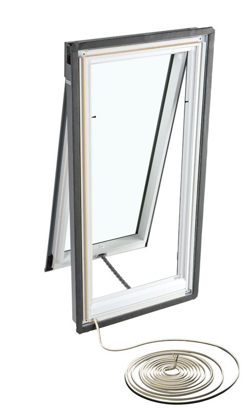 New white skylights range by velux eboss for Remote control skylights