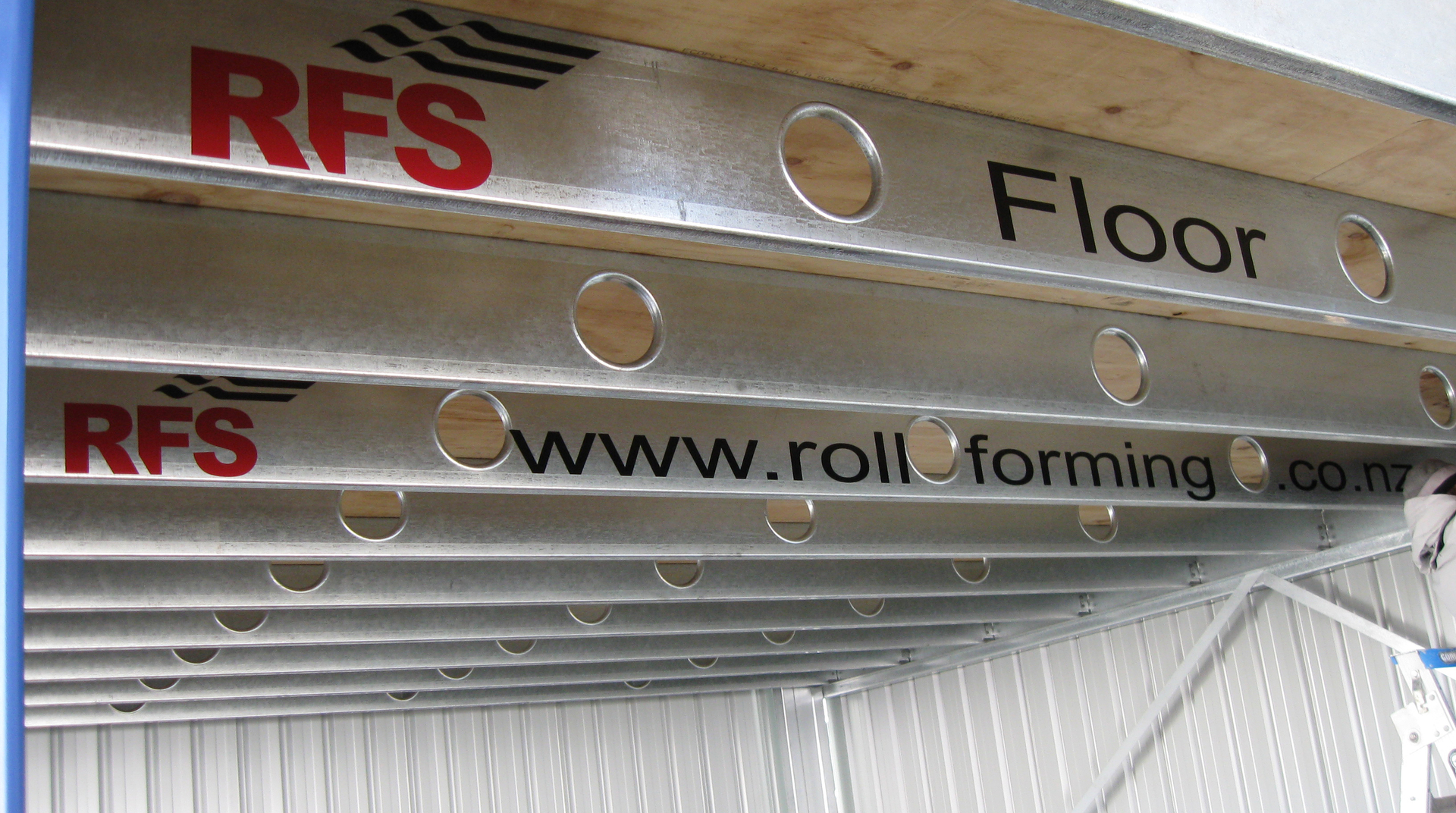 The RFS Steel Floor Joist System.