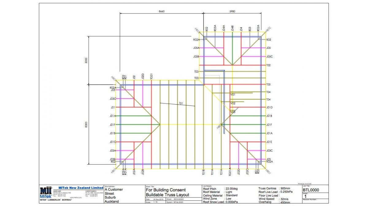 Mitek Introduces New Buildable Truss Layout Service Eboss
