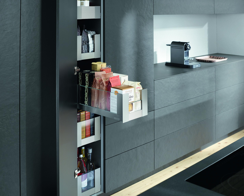 Blum Offer Handy Solutions For Kitchen Storage