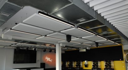 Ecoplus Acoustic Ceiling Products a Fantastic Fit for Les Mills
