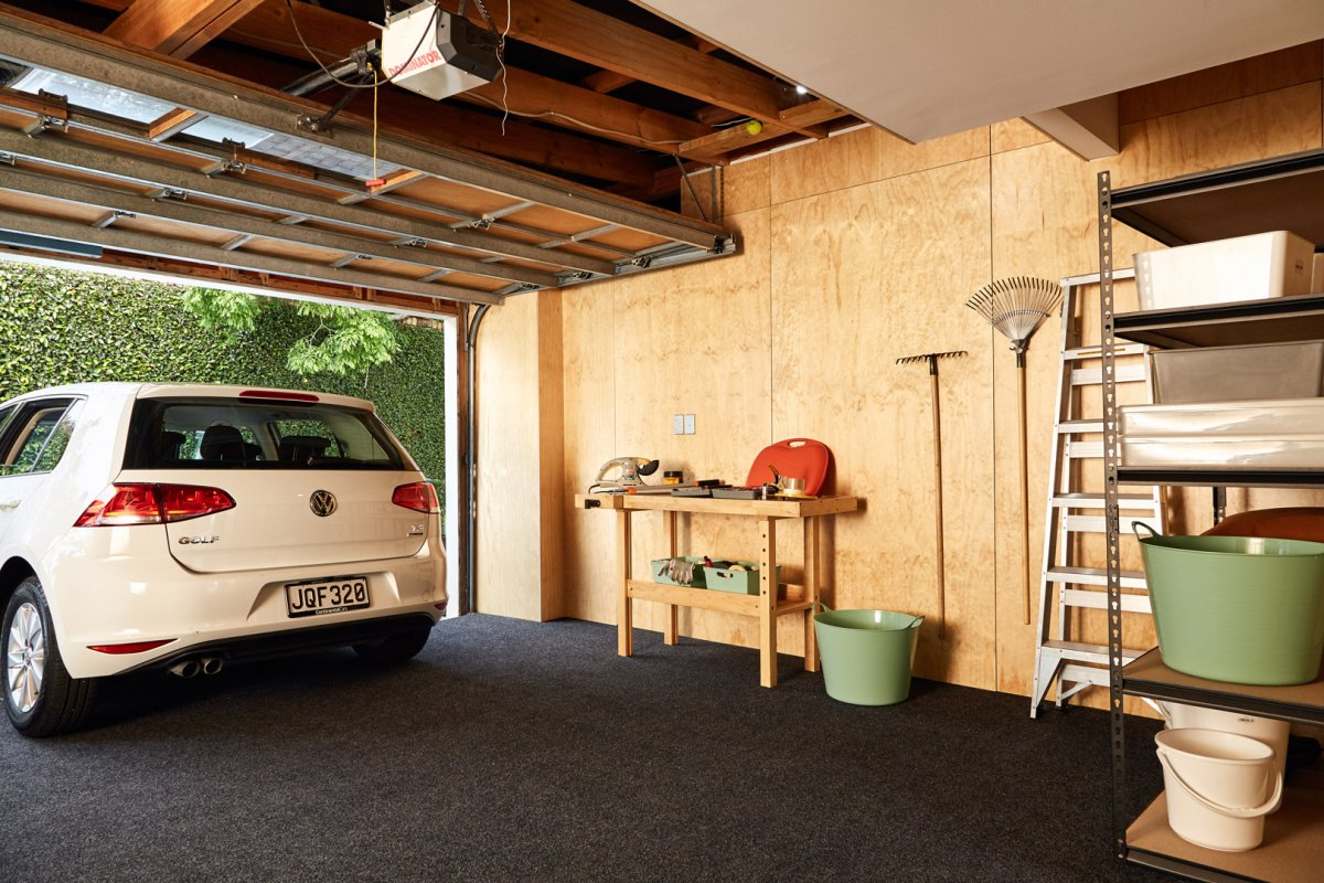 Plyplay transforms garage into versatile play space eboss for Versatile garages