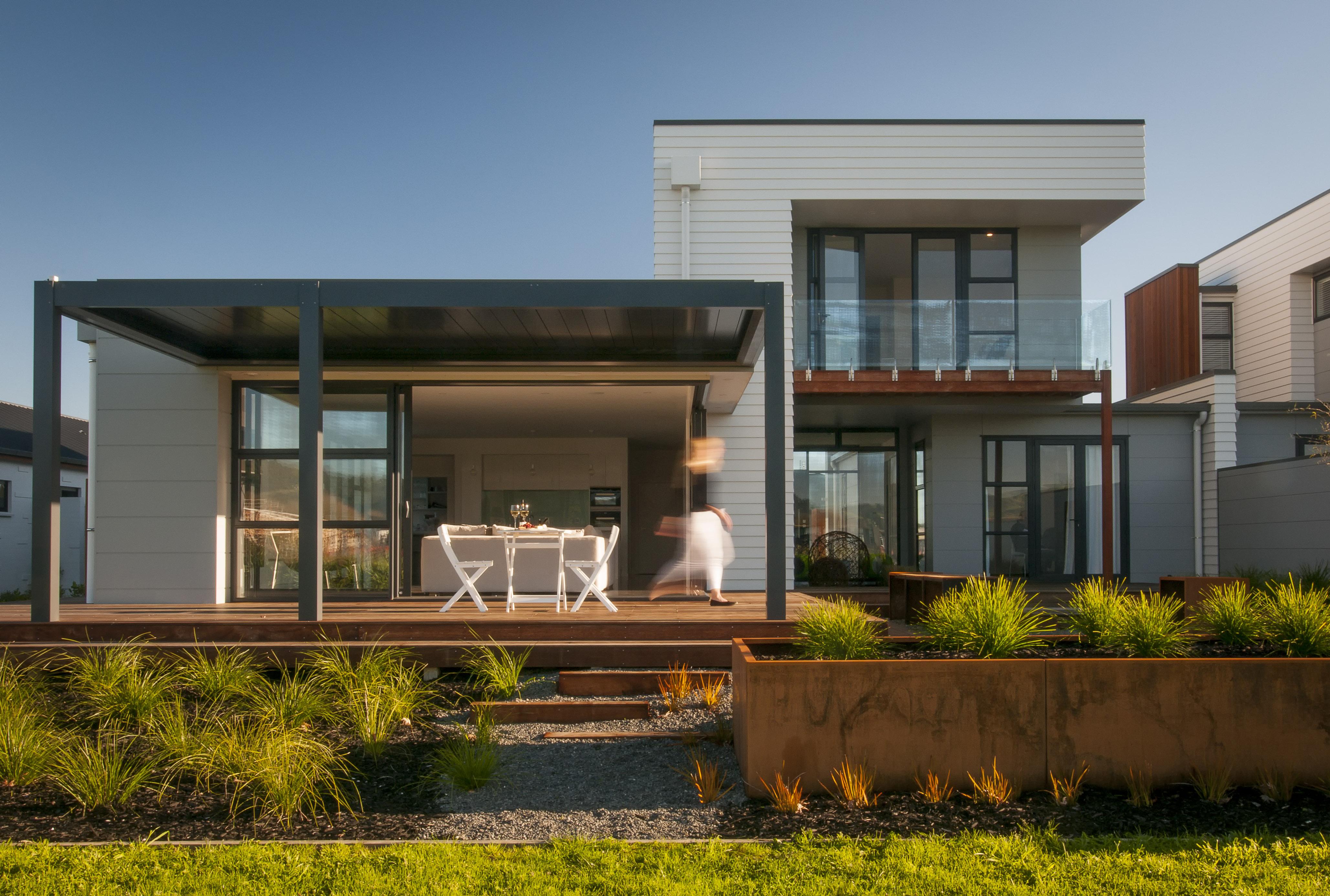James hardie delivers multi clad appeal for st kilda homes for Hardiplank homes designs
