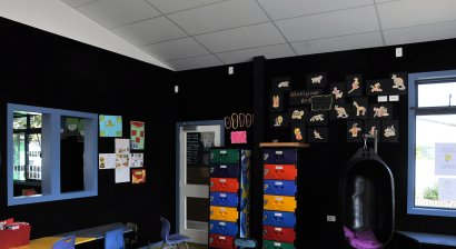 Ecoplus Acoustic Tiles Reduce Noise at Massey Primary