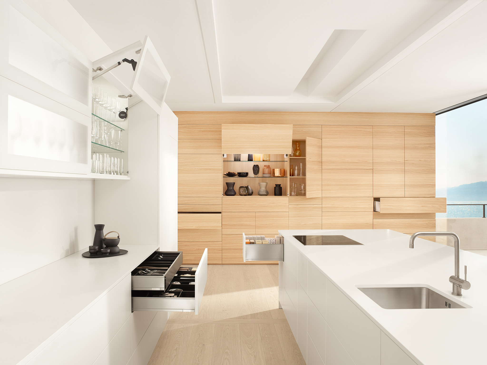 Blum Offers Practical Handle-less Design Options at All Project ...