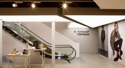 Barrisol Lights Up Topshop Wellington