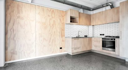 PlyPlay Adds Texture and Pattern to Boutique Apartments