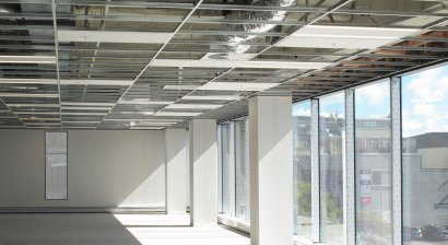 USG Boral's Seismic Ceiling System with Acoustic Performance