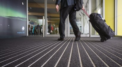 Airport Benefits from Safe, Low Maintenance Entrance Matting