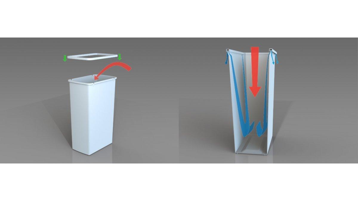 largest double bins in hideaway compact range upgraded – eboss