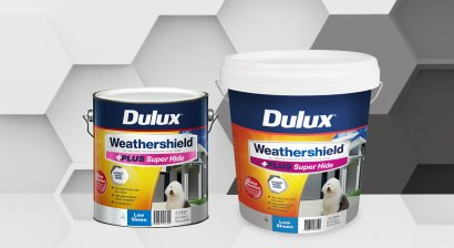 New Dulux Weathershield +PLUS Super Hide