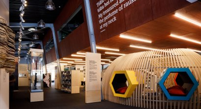 Plytech Adds Warmth and Texture to Beautiful New Te Awahou Nieuwe Stroom