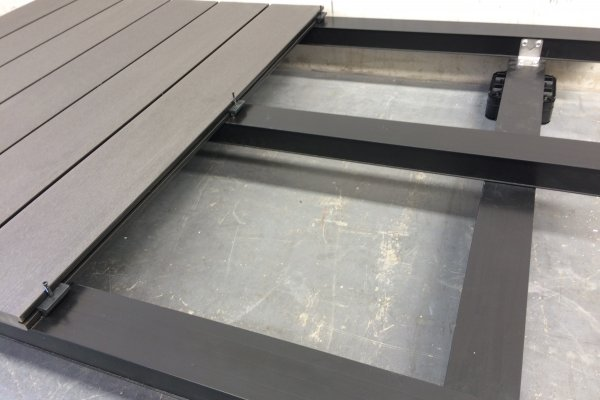 Prefabricated Aluminium Frames for Futurewood Composite Decks