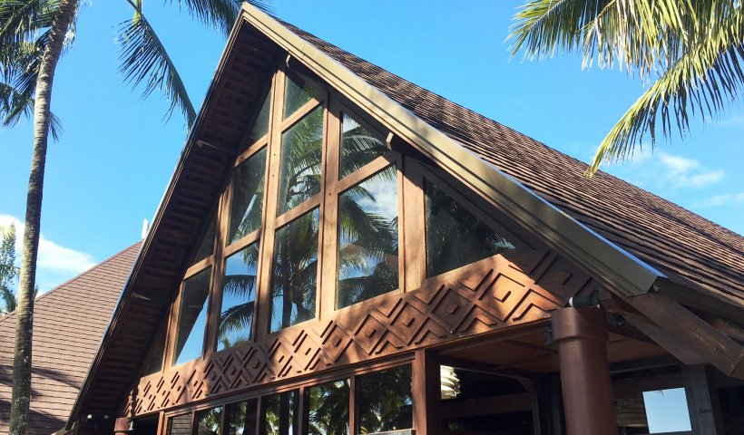 Island Resort Re-roofing Utilises High Performance Shingles