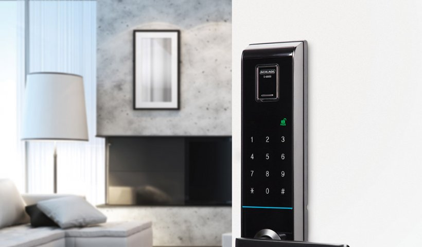 Allegion Releases Schlage S-6800 Fingerprint Reading Lock