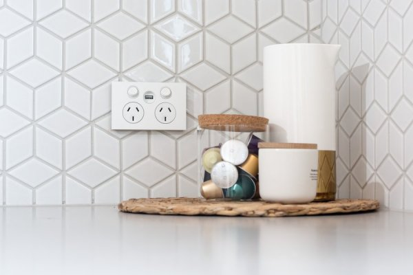 Bring Technology to Kitchens with In-Wall USB Chargers