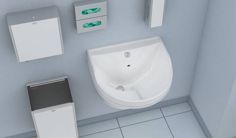 Franke Medi-flo Washbasin Helps Combat Healthcare-Acquired Infectious Diseases