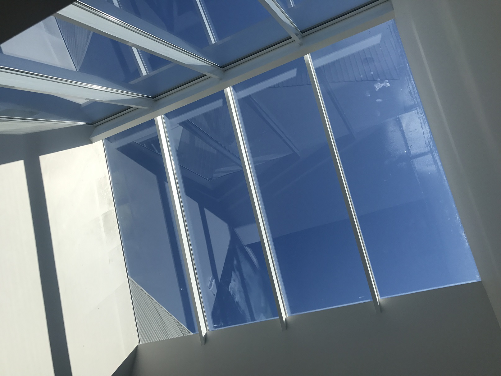 Overhead Glazing Systems : Let the light flood in with spectrum overhead glazing