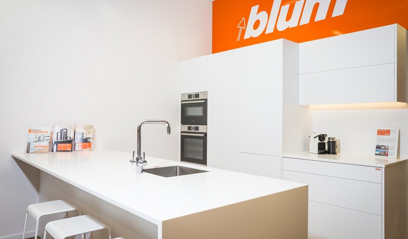 Get Hands-On with Blum Kitchen Hardware in the Wellington Design Library